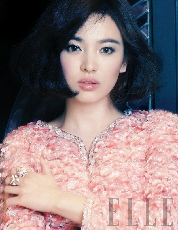 Song Hye Kyo for Elle magazine